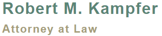 Robert M. Kampfer  Attorney At Law logo